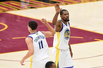 Klay Thompson Posts Tribute To Kevin Durant Ahead Of Game 6