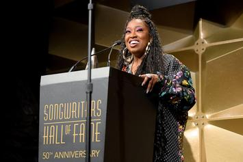 Missy Elliot Becomes The First Female Hip-Hop Artist In Songwriters Hall Of Fame