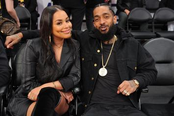 "Lauren London ""Sends Prayers"" For Her Beloved Nipsey Hussle On Father's Day"