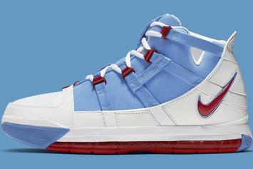 "Nike Zoom LeBron 3 QS ""Houston Oilers"" Drops Saturday, Official Images"