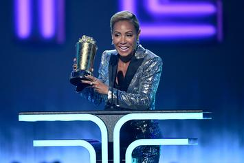 Jada Pinkett Smith Has Son Jaden By Her Side As She Receives MTV Award