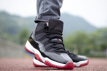 "2019 Air Jordan 11 ""Bred"": Best Look Yet At The Returning Classic"