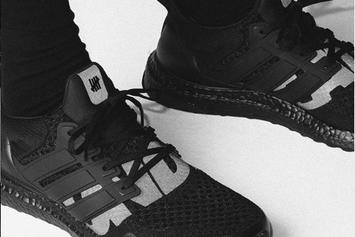 "Adidas UltraBoost X Undefeated Collab Returns In ""Blackout"" Colorway"