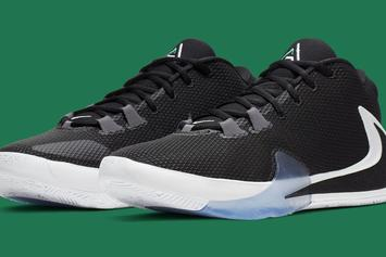 "Giannis' Nike Zoom Freak 1 ""Lucid Green"" Drops Next Month: Official Photos"
