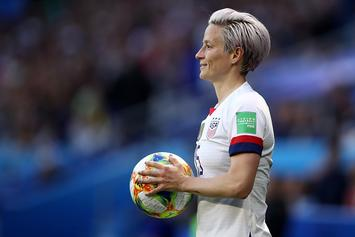 "Megan Rapinoe ""Not Going To F*cking White House"" If U.S. Wins World Cup"