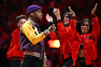 Tory Lanez Crosses Up YK Osiris In Game Of 1-On-1 Basketball: Watch
