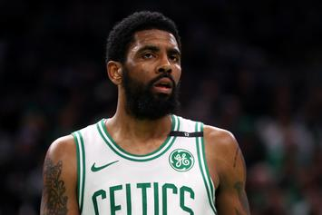 Kyrie Irving Reportedly Refused To Sign Celtics Basketballs For Charity
