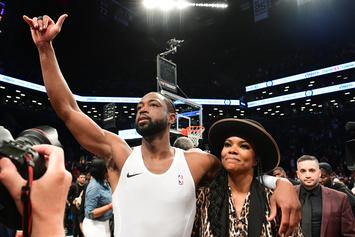 Dwyane Wade Punks Streetball Player With Mutombo Finger Wag: Watch