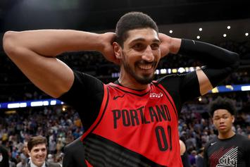 """Enes Kanter Claps Back At Nick Wright For Calling Celtics A """"Disaster"""""""