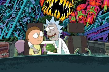 """Rick And Morty,"" Adult Swim Celebrate July 4th With Releasing Psychedelic Vignette"