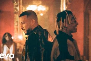 """French Montana & Tyla Yaweh Link Up In Luxurious """"Salute"""" Video"""