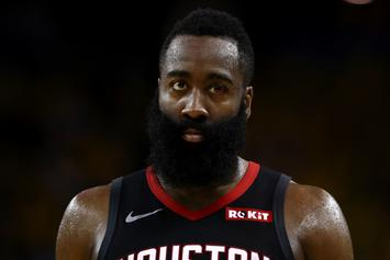 "James Harden Wins ""Smacking"" Lawsuit Against Photographer: Report"