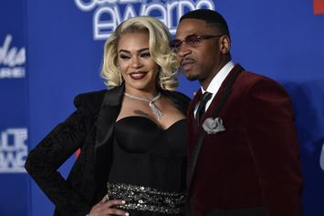 Stevie J & Faith Evans Deny Breakup Rumours During Trip To Essence Festival