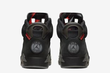 Air Jordan 6 x PSG Collab Debuts This Month: Official Images, Release Info