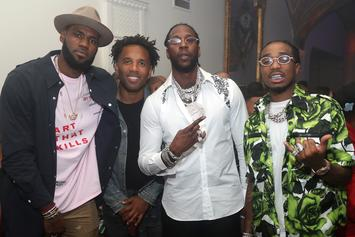 LeBron James, Quavo, 2 Chainz & More Party It Up At Uninterrupted Event