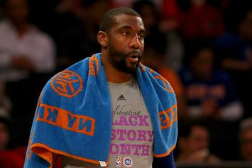 "Amar'e Stoudemire Allegedly Threatens Knicks' Podcasters: ""Meet Me In Person"""
