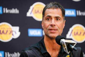 Lakers' Rob Pelinka Reacts To Losing Kawhi Leonard Sweepstakes