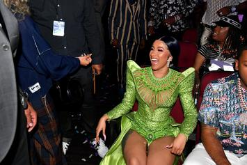 Cardi B's Nails Tie Her Reebok Shoelaces In Latest Campaign