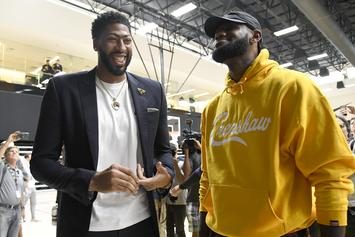 LeBron James Blesses Anthony Davis With An Invite To Taco Tuesday