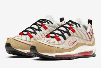 Nike Air Max 98 Gets Another Inside Out Colorway: Official Photos