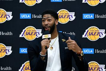 Lakers' Anthony Davis Reveals Two Favorite NBA 2K Teams To Play With