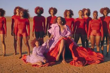 """Beyonce Delivers Gorgeous Visuals For Extended """"Spirit""""+ """"Bigger"""" Video"""