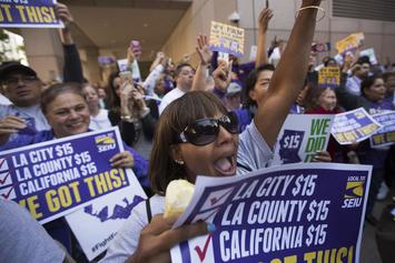 The House Passes Bill To Increase Minimum Wage To $15