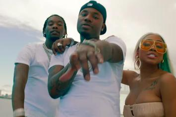 "Marlo, Offset & City Girls Enjoy The Finer Things For ""Soakin Wet"" Video"