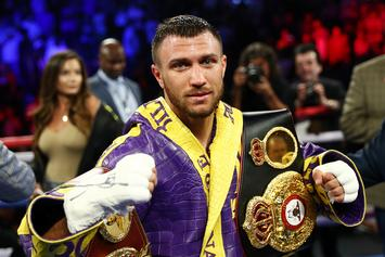 "Vasyl Lomachenko Seeking 3rd ""Lightweight Title"" In Mega Fight With Luke Campbell"