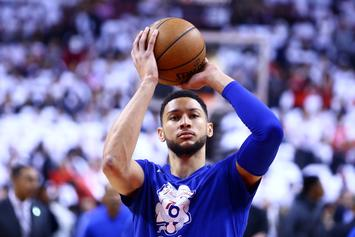 Ben Simmons Shows Off Newfound Shooting Range: Watch