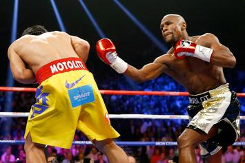 Manny Pacquiao's Trainer Says He Can Knock Out Floyd Mayweather