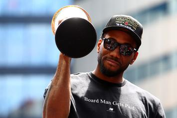 Kawhi Leonard Voted Best NBA Player By League Execs