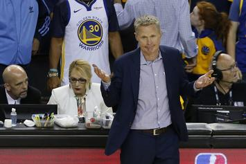 Steve Kerr Believes 2017 Warriors Were One Of The Best Teams Ever