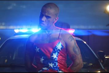 """Vic Mensa Wears Confederate Flag Dress In """"3 Years Sober"""" Video"""