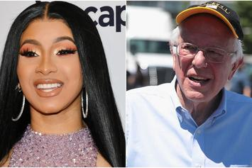 Cardi B & Bernie Sanders Sometimes Talk Politics On The Phone
