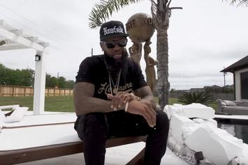 """Slim Thug Gives Fans A Tour Of His Mansion in """"KOTH"""" Visual"""