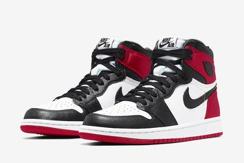 "Air Jordan 1 Satin ""Black Toe"" Drops Soon: Official Images Finally Unveiled"