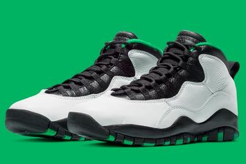 "Air Jordan 10 ""Seattle"" Returning For First Time Since '95: Release Date"