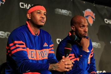 Carmelo Responds To Chauncey Billups' Remarks About Why He's Not In NBA