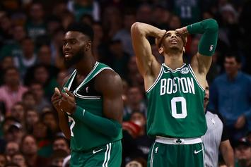 Jaylen Brown Trolls Jayson Tatum Over His New Abercrombie Cologne