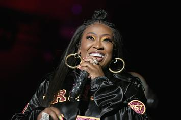 "Missy Elliott Loves Fan Who Drums To ""Get Your Freak On"" Using Cushion & Kid's Toys"