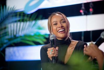 Karrueche Tran Will Never Look At Cucumbers The Same After Viral Challenge
