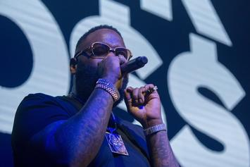 "Rick Ross Preps Nipsey Hussle ""Port Of Miami 2"" Track With TBT Photo"