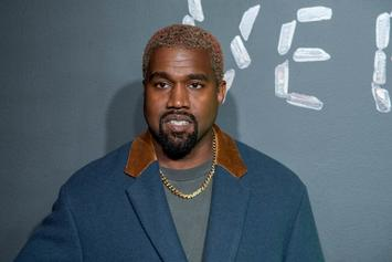 "Kanye West Pairs ""Rick & Morty""-Inspired Hoodie With Fresh Yeezys"