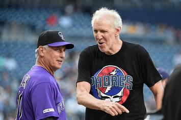 "Bill Walton Throws Horrendous First Pitch, Delays Game On ""Grateful Dead Night"""