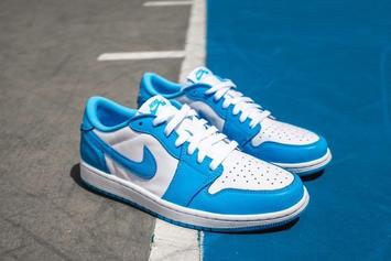 "Nike SB x Air Jordan 1 Low ""UNC"" Drops Today: Purchase Links"