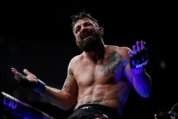 UFC's Mike Perry Shares Message After Getting His Nose Smashed In