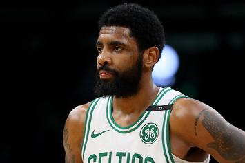 Kyrie Irving Ducks Questions While Out With Nets Teammates: Watch