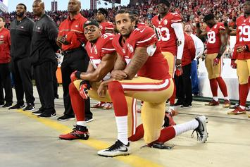 Colin Kaepernick Shows Off Throwing Strength With Eric Reid: Watch