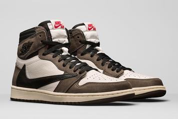 Travis Scott x Air Jordan 1 Collabs Raffled Off For $1: Details